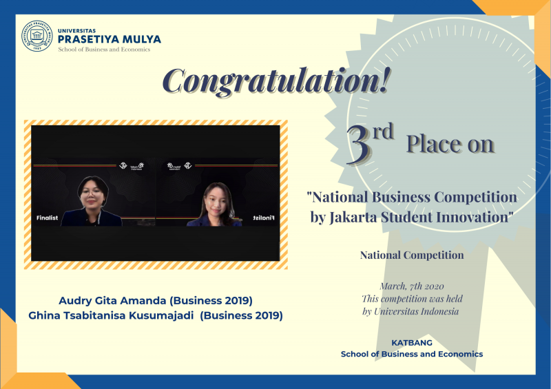 Business plan competition indonesia dossier vs resume